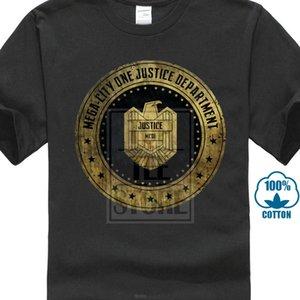 China-Art-Fashion Rock Mega City One Justice Dept Logo I T-Shirt Judge Dredd Comic Abteilung Adler