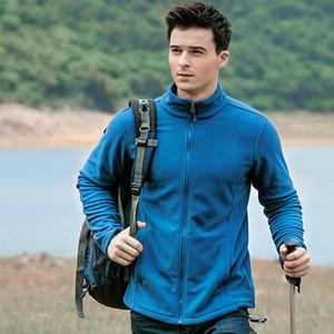 Men's Jacket Coat Sportwear Outerwear Full-Zip Polar Fleece Hiking Thin Jackets Autumn Winter Casual Coat Male Sport