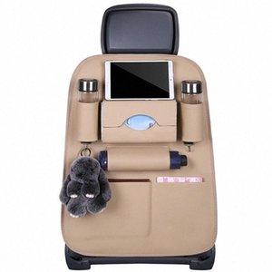 Siège arrière de voiture de stockage Organisateur Sac multi Pocket Sew main voiture pour Kia Sportage 2011 2014 Kia 3 Ceed Ceed 2010 2012 Volants Cov WLKS #