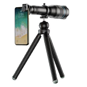 60x concert HD single tube external magnifying telescope universal long focus mobile phone lens is suitable for all brands of mobile phones