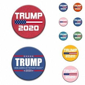 mode 9style Trump Badge commémorative PINS Broches 2020 Badge Trump Supplies Election américaine du drapeau américain Supply T2I5962-2 LbKI #