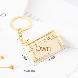 Abacus Wangzi Chenglong Yaratıcı Hediye halka kolye anahtarlık yaratıcı hediye Abacus anahtarlık kolye VHcRT alaşımlı 6 vites 8 vites