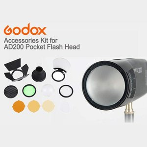 Godox ronde magnétique tête de flash AK R1 Accessory Set Kit Godox AK-R1 Kit Mini Photographie Pièces de rechange pour H200R V1