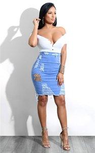 couture imprimé léopard hip-enveloppé jupe unique célébrité Internet américain en maille imprimé léopard hip-enveloppé jupe unique américaine Inte