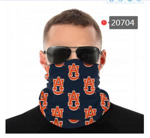NCAA Auburn Tigers Seamless Hals Gamasche Schild Schal Bandana Gesichtsmasken UV-Schutz für Motorrad Radfahren Reiten oder Fahren Rennen Stirnbänder