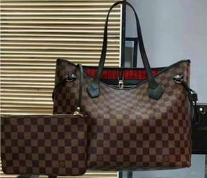 Lou bag alta qulity classici progettista delle donne borse delle signore di fiori tote composito borse a tracolla pochette in pelle PU borsa femminile con portafoglio