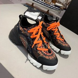 2020w luxury leather lace men's and women's casual shoes, high quality fashion wild men's and women's sports shoes, size: 35-45 ac98