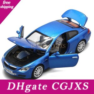 1 :32 High Simulation New Bmw M6 Alloy Racing Sport Car Model Sound And Light Pull Back Four Children &#039 ;S Toys Gift