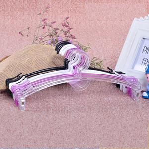 Moda Gruccia trasparente stand Panno Panty reggiseno di plastica Bastone appendiabiti Closet Organizer Accessori Bagno Conservare 0 38zh B2