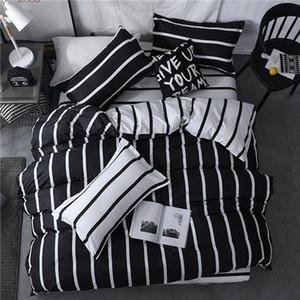 Bettwäsche-Set Fashion Luxury Sterne Home Textile Bettbezug Bettwäsche Blatt weiche bequeme 3 / König Königin Voll Twin-Size gOpx #