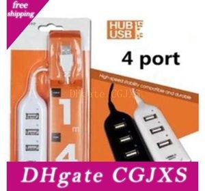 Alta velocidad Mini 4 puertos USB 0.0 Hub 2 60cm Cable adaptador cargador 1m puerto USB para el ordenador portátil Ordenadores Accesorios para Iphone 6 7 8