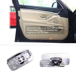 Fit For BRZ 2X Car Door Welcome Light LED Lamp Laser Ghost Shadow Projector LOGO Light Decorative Accessories Auto