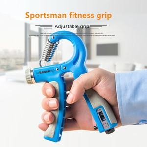 2020New R-Forme ajustable Sport Poignée Force Countable exercice Fortifiant Gripper Spring Finger Pincez Carpal Expander