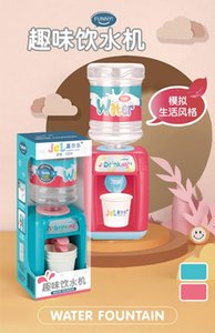 Children play toys fun water dispenser drinks mini water and water kitchen home appliances boys and girls
