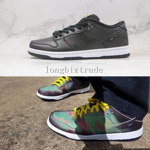 Barco rápido Imagen termal de alta calidad Smiley Cut Dunk Sports Skateboard Zapatos Civilist X Skate Shoes Hombres Mujeres SB Dunks Designers Sneak