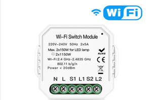 Mart Home Light Wifi Switch Diy Breaker Module Smart Life App Remote Control Work With Alexa Google Home