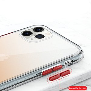 Akış Altın Pırıltılı Toz Cep Telefonu Kabuk iphone 11Pro Max 7 / XR Pırıltılı Powde Kabuk Koruyucu Kılıf FEMA Iphone 12 7 / 8Plus