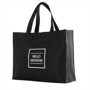Women Foldable Shopping Bag Reusable Eco Large Unisex Shoulder Bags Tote grocery cloth Bags Pouch