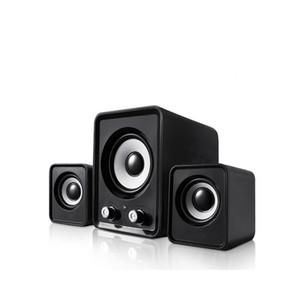 Multimedia Speaker 2.1 Wired combinazione di diffusori Bass USB per PC altoparlanti del computer portatile di musica di DJ USB per la TV portatile