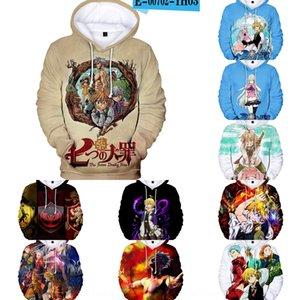 T64kI Adult children's clothing new nanatsu no taizai seven sins printing 3D hooded sweater Children's wear digital sweater Digital for men