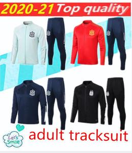 2020 2021 Испания Взрослый Куртка для отдыха CamiSeta España Morata A.iniesta Fabregas Футбольная куртка Испания Учебный костюм