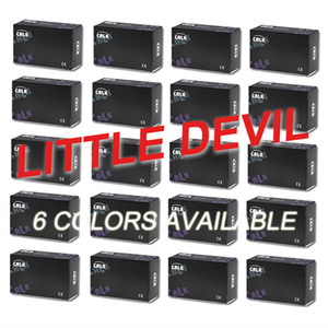 little devil contact lenses boxes GOOD QUALITY in China market 6 colors can provide clear pictures DHL free shipping