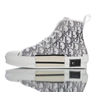 Dior 2020 en yeni yüksek kalitede moda trendi nefes spor ayakkabıları yüksek üst sepet moda tuval üç katmanlı basketbol ayakkabıları