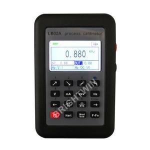 정밀 NEW LB02A 프로세스 교정기 주파수 온도 RTD PT100 열전대 mV의 0-10V 4-20mA 신호 발생기 시뮬레이터 컬러 LCD