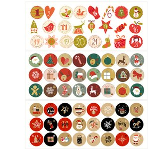 2020 christmas decorations factory stock Christmas gifts Holiday stickers stickers Party gifts Christmas hat love stickers