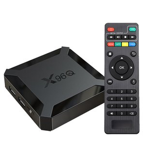 X96Q Android 10.0 TV Box Allwinner H313 Quad Core Support 4K 3D Set Top 1 2GB Media Player Mini Smart TV Box