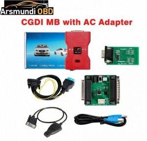 [UK Ship No Tasse] CGDI MB programmatore chiave con adattatore AC Lavora con W164 W204 W221 W209 W246 W251 W166 di dati tramite OBD mucD #