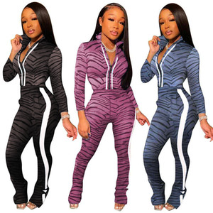 Free shipping 2020 new women's fashion sports suit7122