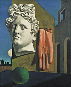 Giorgio de Chirico The Song of Love Home Decor Handcrafts  HD Print Oil Painting On Canvas Wall Art Canvas Pictures A544