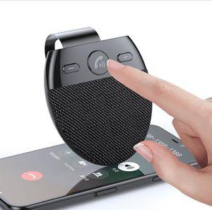 SP11 Bluetooth Car Phone Sun Visor Hands Free Speakerphone with USB Bluetooth Car Speaker Handsfree Car kit Auto Power on