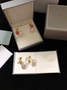 Medio 2020 neue Ohrringe Perle Ohrringe weiblichen Buchstaben d Hause klassische CD der Liebe Ohrringe Bee
