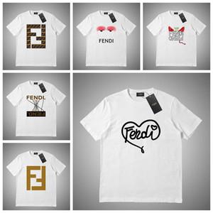 Роскошные мужские Конструкторы T Shirt Мужчины Женщины маска Летняя футболка Hip Hop Белый Розовый Серый с коротким рукавом Polo S-2XL # 46621