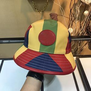 Nuevos sombreros de color de empalme Fashion Gorras y gorras de béisbol para unisex Ocio Deportes Sombreros Sombreros Sombreros de alta calidad Suministro