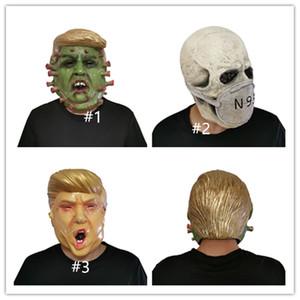 Президент США Mr.Donald Trump латексные маски Маски Конструкторы полнолицевыми партии костюма Halloween Накладные Маска Череп Trump Character маска D81706
