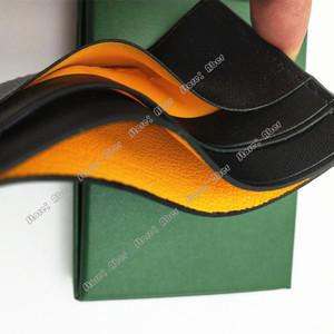 Aber 100% cuir véritable de haute qualité Hommes Femmes arc-en-couleur de sucrerie titulaire de la carte bancaire de carte de crédit ID Porte-boîte-cadeau Carte Slim