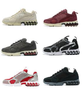 2020 New Air Zoom Spiridon Caged 2 Mens Running Shoes Universidade Azul Spiridon Grey Black Metallic prata Pure Platinum Mulheres Sports Sneaker