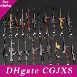 Survivl Jeu Arme Jouets Porte-clés Pendentif 10 -12cm Hot jeu 3d Gun modèle porte-clés enfants Toy Gun Accessoires L379