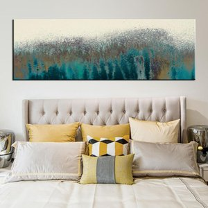 Abstract Wall Art Canvas Paintings Turquoise Pop Art Prints Wall Posters Home Decorative Pictures For Bed Room Wall Cuadros