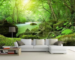 3d Modern Wallpaper 3d Landscape Wallpaper Fantasy Forest HD Natural Scenery Romantic Scenery Decorative Silk 3d Mural Wallpaper