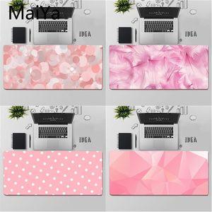 Maiya Top Quality Pink beautiful design Comfort Mouse Mat Gaming Mousepad Free Shipping Large Mouse Pad Keyboards Mat
