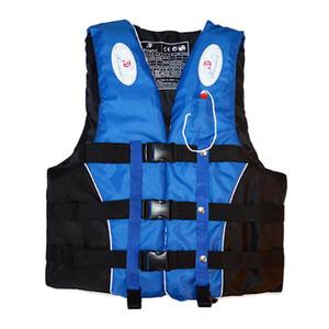 휘슬 M-XXXL 크기 수상 스포츠 남성 여성 자켓과 폴리 에스테르 성인 생활 조끼 자켓 수영 보트 스키 표류 생활 조끼