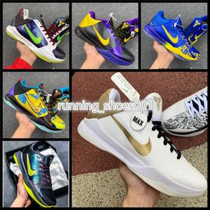 Nike kobe Protro Bruce Lee Black Mamba Mentalidade 5 Big Stage Venda 2020 novos homens sapatos casuais atacado US7-US12 LL