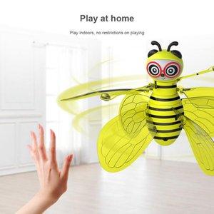 Mini Bee Drone UFO télécommande Jouets RC animaux Avions Jouets Kid Dropship RC Helicopter Fly Jouets pour billes Cadeaux d'anniversaire