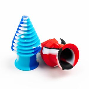 dicas boca coloridos Mouthpeace silicone filtro cachimbo de água para quartzo banger copo bong de vidro tubulação de água cachimbos