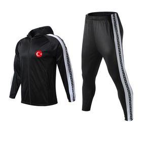 Vêtements de sport en cours de la Turquie Football Club Hommes Survêtements Hot Loisirs Sports de plein air Vêtements de football longue Sets manches pour unisexe