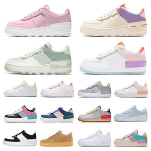 2020 Skate-Schuhe nike air force 1 white off MCA Low stock x airforce one Shadow af1 just do it Pale Ivory Utility Black MOMA Herren Damen Designer Running Sneakers Trainer